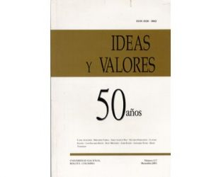 Ideas y Valores. Revista Colombiana de Filosofía. No. 117