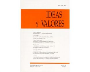 Ideas y Valores. Revista Colombiana de Filosofía. No. 118