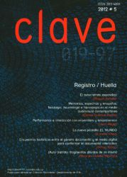 Revista Clave 019-97. No. 5. Creación Multimedia. Registro/Huella