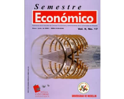 Revista Semestre Económico. No. 17 Vol. 9