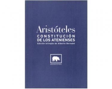 Aristóteles. Constitución de los atenienses