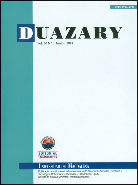 Duazary. Vol. 10 No. 1