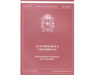 Acta Biológica Colombiana. Vol. 04 No. 1