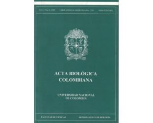 Acta Biológica Colombiana. Vol. 04 No. 2
