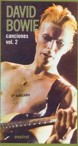 Canciones Vol. II de David Bowie 3a. edición