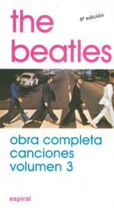 The Baetles. Obra completa. Canciones. Volumen 3. 9a edición