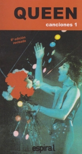 Canciones I de Queen. 8a edición revisada.