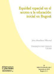 Equidad espacial en el acceso a la educación inicial en Bogotá