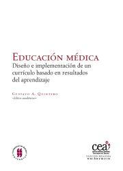 Educación Médica. Diseño e implementación de un currículo basado en resultados de aprendizaje