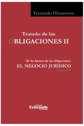 Tratado de las Obligaciones II. Negocio Jurídico II