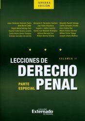 Lecciones de derecho penal. Parte especial. Volumen II