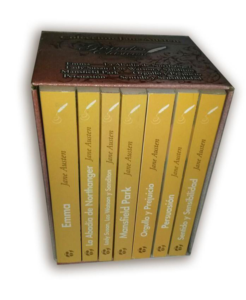 Colección Jane Austen ( 7 tomos)