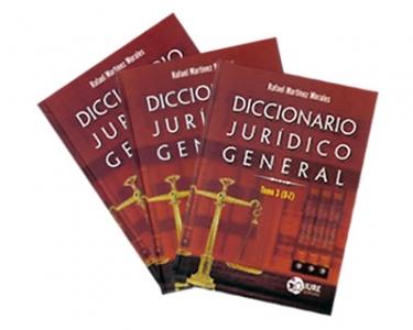 Diccionario jurídico general. 3 Tomos