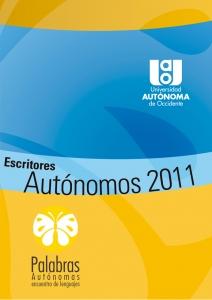 Escritores autónomos 2011