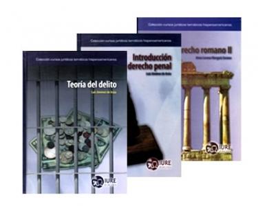 Serie derecho penal, teoría del delito y derecho romano II. 3 Tomos