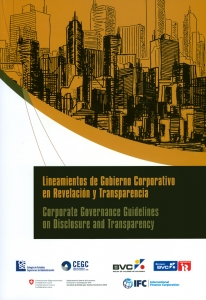 Lineamientos de gobierno corporativo en revelación y transparencia. Corporate governance guidelines on disclosure and transparency