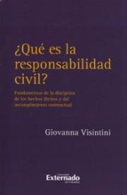 ¿Qué es la responsabilidad civil?