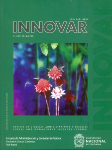 Revista Innovar Vol. 28 No.67