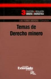 Temas de derecho minero
