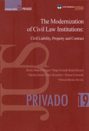The Modernization of Civil Law Institutions: Civil Liability, Property and Contract. Colección JUS PRIVADO 19