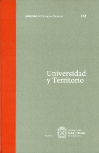 Universidad y territorio Tomo I. 1/2