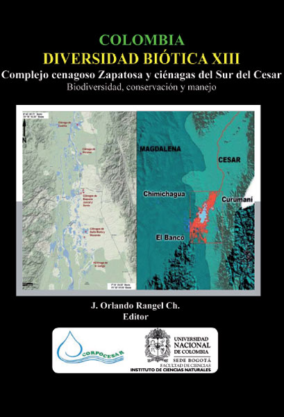 Colombia. Diversidad biótica XIII: complejo cenagoso Zapatosa y ciénagas del Sur del Cesar
