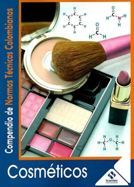 Portada de la publicación Compendio de normas técnicas colombianas. Cosméticos