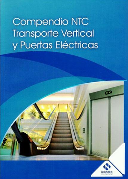 Portada de la publicación PB42 Compendio NTC Transporte Vertical y puertas eléctricas
