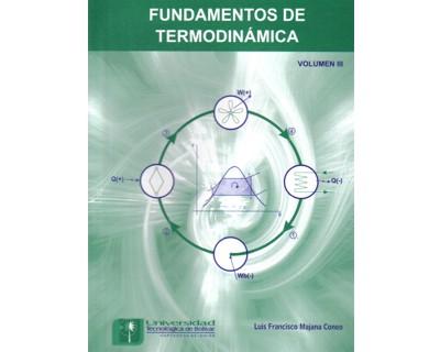 Fundamentos de termodinámica. Volumen III