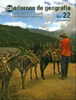 Cuadernos de geografía. Revista Colombiana de Geografía Vol. 22. No. 1