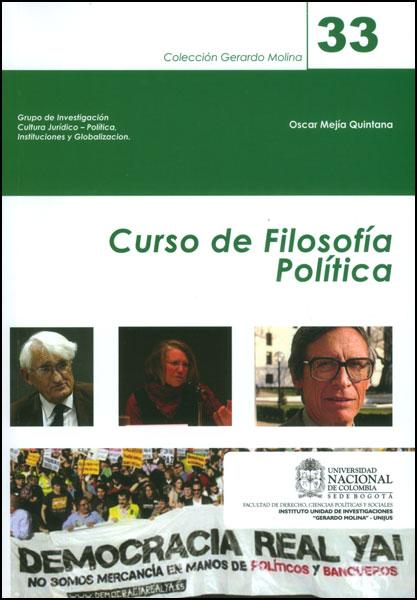 Curso de filosofía Política