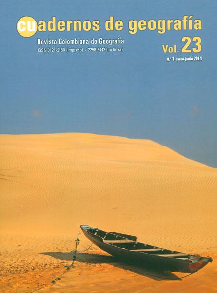 Cuadernos de geografía. Revista colombiana de Geografía Vol. 23 No. 1