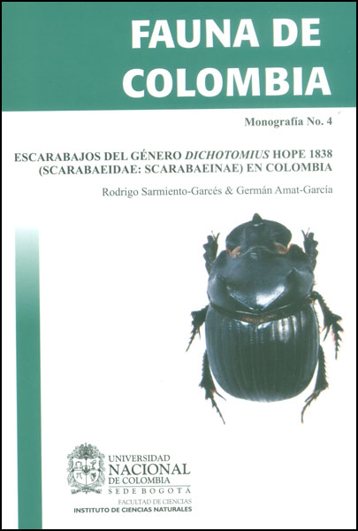 Escarabajos del género Dichotomius hope 1838 (Scarabaeidae: scarabaeinae) en Colombia