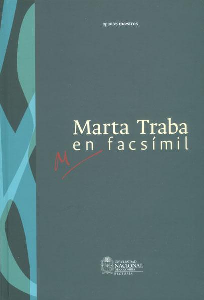 Marta Traba en facsímil