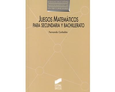 Libro Impreso Juegos Matematicos Para Secundaria Y Bachillerato