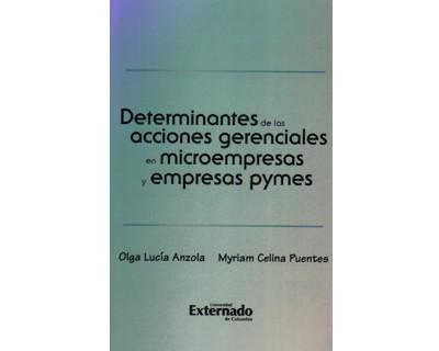 Resultado de imagen para Determinantes de las acciones gerenciales en microempresas y empresas pymes universidad externado