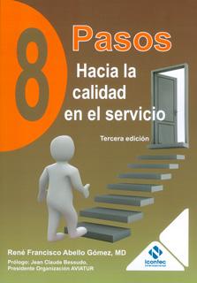 Portada de la publicación 8 pasos hacia la calidad en el servicio