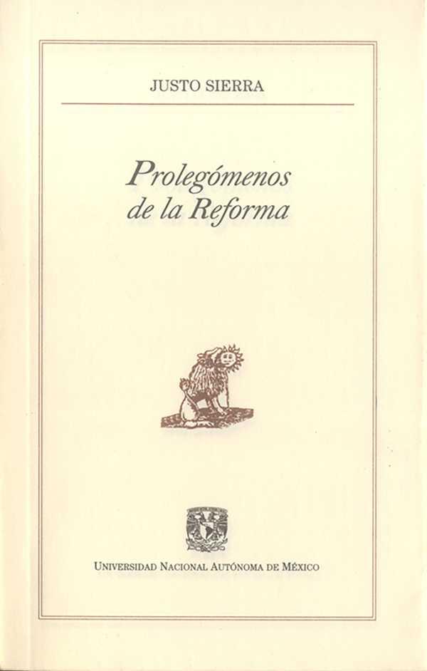Prolegómenos de la Reforma