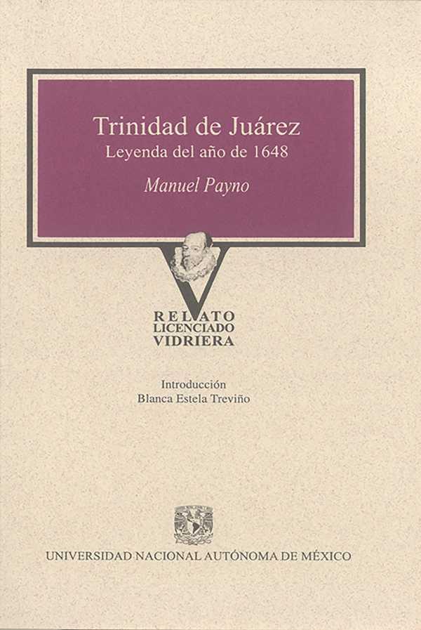 Trinidad de Juárez. Leyenda del año 1648