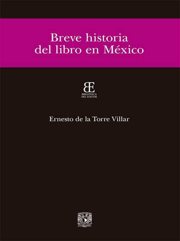 Breve historia del libro en México