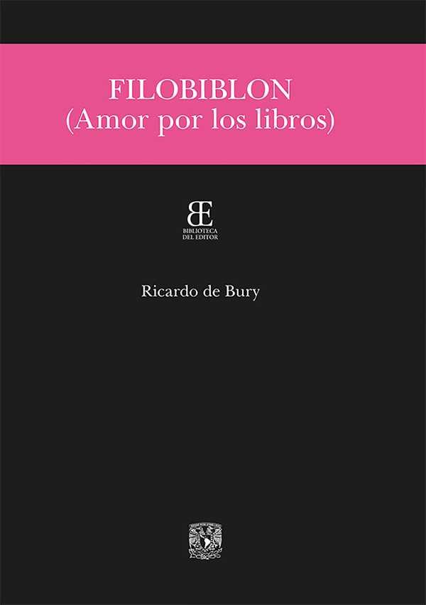Filobiblon. Amor por los libros