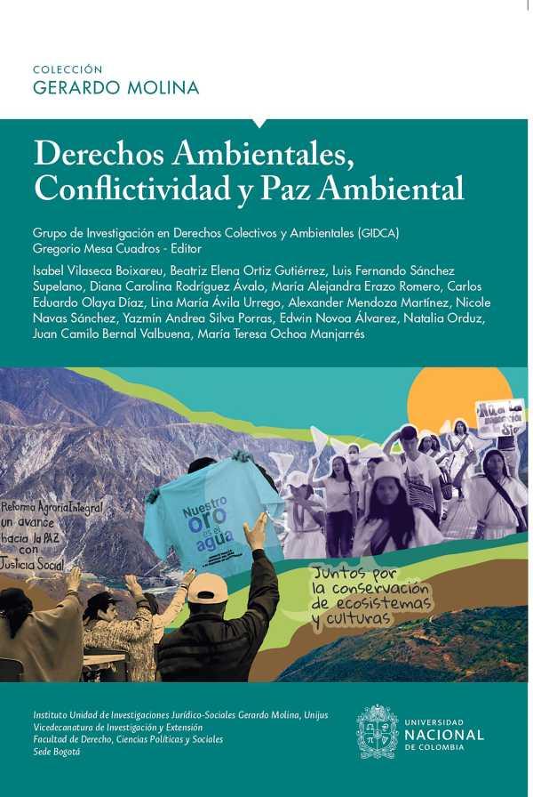 Derechos Ambientales, conflictividad y paz ambiental