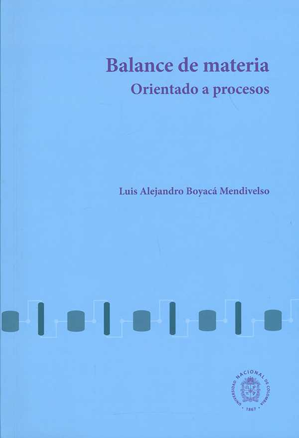 Balance de materia orientado a procesos