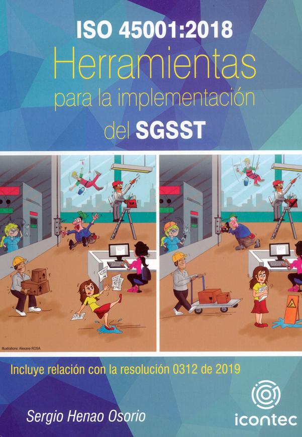 Portada de la publicación ISO 45001:2018 Herramientas para la implementación del SGSST