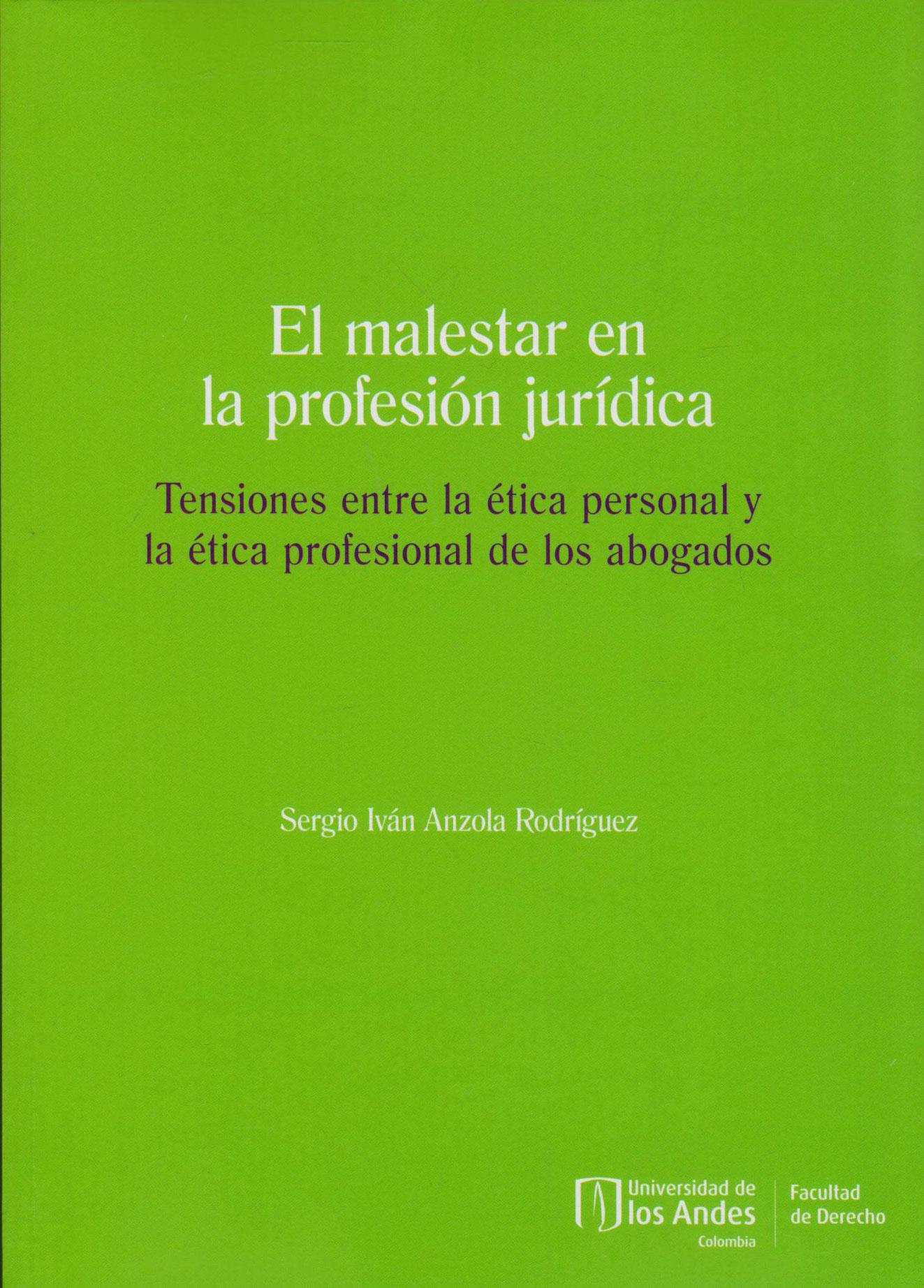 El Malestar en la Profesión Jurídica