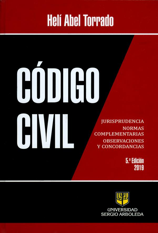 Código civil. 5ª  Edición. 2019