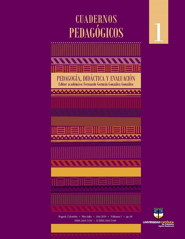 Cuadernos pedagógicos. Pedagogía, didáctica y evaluación
