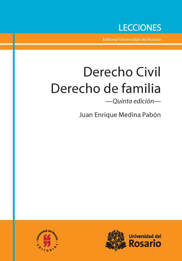 Libro Impreso Derecho Civil. Derecho de familia. Quinta edición ...
