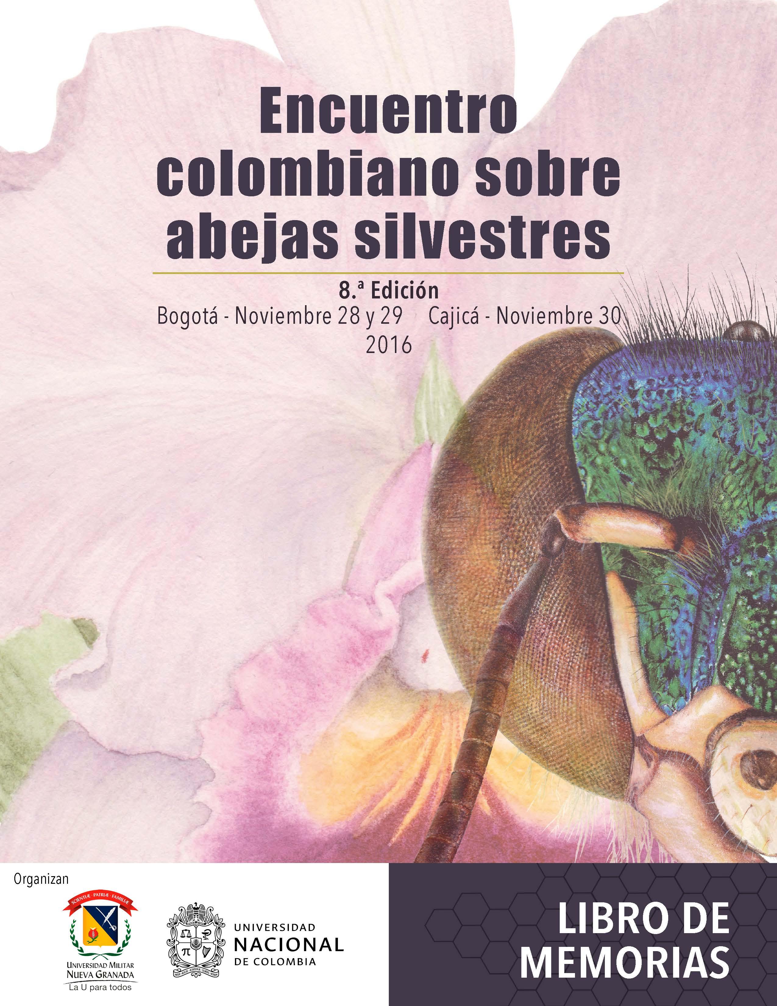 Encuentro Colombiano sobre Abejas Silvestres 8.ª Edición, Libro de Memorias