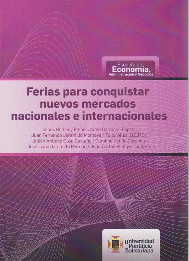 Feria para Conquistar Nuevos Mercados Nacionales e Internacionales